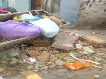 Entulho de lixo e metralhas incomodam moradores em Belo Jardim