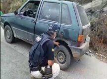 Carro com 51 multas é recolhido pela PRF em Caruaru