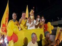 Carreata do PSB não empolga em Belo Jardim e internautas a comparam com velório