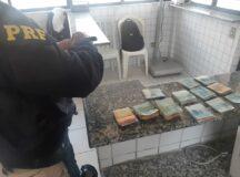 Trio é preso com carro roubado e R$ 15 mil em Tacaimbó