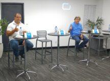 Gilvandro Estrela e Beto de Lulão apresentam suas propostas em debate na CDL