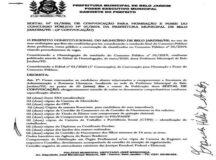 Após pressão da oposição, Hélio dos Terrenos convoca aprovados no Concurso Público