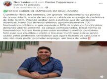 Enquanto servidores municipais estão com salários atrasados, Hélio dos Terrenos faz estardalhaço na efetivação de contratados