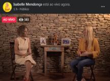 "Despreparada, Isabelle Mendonça foge do debate e realiza ""live"" gravada"