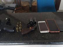 Criminosos presos em Belo Jardim iriam assaltar comerciante, diz polícia