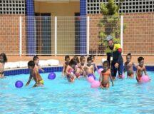 Sesc realiza atividades recreativas para crianças
