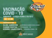 Secretária de Saúde de Belo Jardim fala sobre plano de vacinação contra Covid-19