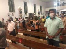 Mendonça Filho participa de missa em homenagem a São Sebastião e a Zé Mendonça em Belo Jardim