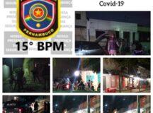 Ação da PM fiscaliza 26 bares em Belo Jardim