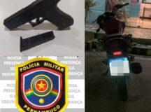 Polícia Militar recupera moto tomada de assalto em Belo Jardim