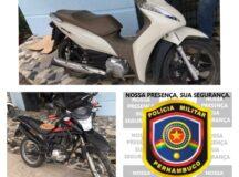 PM recupera motocicleta roubada em Belo Jardim