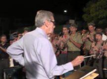 Filarmônica São Sebastião homenageia maestro Vavá Vieira