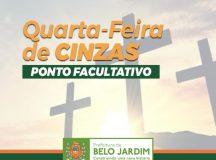 Prefeitura de Belo Jardim decreta ponto facultativo na quarta-feira de cinzas