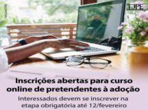 TJPE abre novas inscrições para curso online para pretendentes à adoção