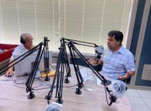 Mendonça Filho faz balanço de ações e elogia a gestão do prefeito Gilvandro Estrela em entrevista na Rádio Bitury