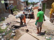 Operação tapa-buraco e atividades do Mutirão Cidade Limpa contemplam ruas de Belo Jardim e AEB