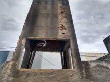Prefeitura inicia recuperação estrutural da caixa d'água da Central de Abastecimento