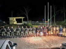 Parceria entre prefeitura municipal, Polícia Militar e Vigilância Sanitária possibilita ação de segurança no centro e em distrito de Belo Jardim