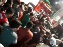 Tumulto e aglomeração foram registrados em blitz realizada pelo Detran em Cachoeirinha