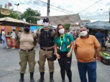 Feiras livres de Belo Jardim recebem ação educativa de conscientização no trânsito
