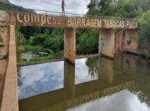 Barragem de Tabocas sangra após chuvas em Belo Jardim