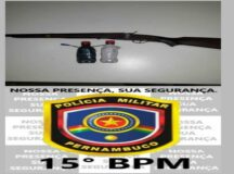 Belo Jardim: Homem é preso por posse ilegal de arma de fogo na zona rural