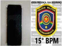 Jovem é detido com aparelho celular roubado em Belo Jardim