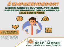 Prefeitura de Belo Jardim cria 'Cadastro do Empreendedor' para ouvir as demandas e realizar trabalhos conjuntos
