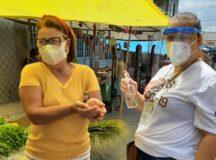 Feiras de Belo Jardim recebem ações de saúde em combate à Covid-19