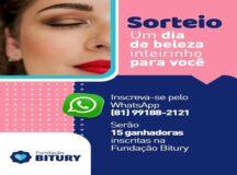 Fundação Bitury realiza sorteio no Dia Internacional da Mulher