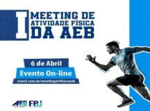 AEB realiza ação para o Dia Mundial da Atividade Física