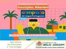 Professores e alunos da rede municipal participarão da 7ª Edição da Olimpíada de Língua Portuguesa