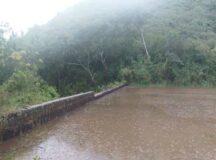 Barragem de Taioba sangra após chuvas em Belo Jardim