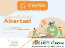 Secretaria de Educação divulga a 16ª OBMEP para incentivar alunos e professores da rede municipal