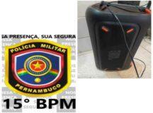 Homem é preso por perturbação do sossego e desobediência em Belo Jardim