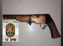 Arma de fogo é apreendida com elemento que havia praticado crime de ameaça em Belo Jardim