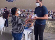 Secretaria de Assistência Social inicia entrega cestas básicas para pessoas cadastradas