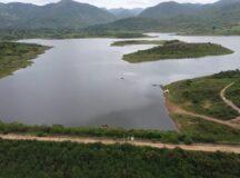 Barragem do Bitury acumula 16,42% da sua capacidade após chuvas da última semana