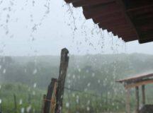 Apac emite alerta de chuvas moderadas a forte no Agreste