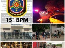 PM realiza operação Varredura em Tacaimbó e em São Bento do Una