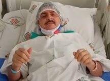 Gilvandro reage bem à cirurgia para retirada de câncer