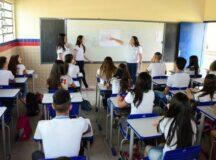 Rede estadual retoma aulas presenciais nesta segunda-feira (19)