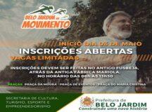 Projeto Movimento nas Praças tem início nesta segunda (3) em Belo Jardim