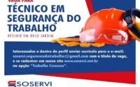 Soservi abre vaga de emprego em Belo Jardim
