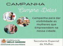 """Secretaria Especial da Mulher lança campanha """"Compre Delas"""""""