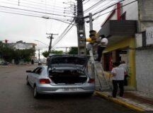AMTT faz manutenção nos semáforos de Belo Jardim