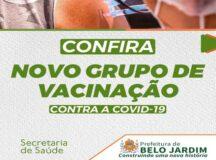 Belo Jardim amplia vacinação contra a Covid-19 para novos grupos a partir desta segunda (10)
