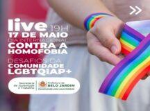 Secretaria de Juventude e Trabalho realiza live sobre os desafios da comunidade LGBTQIAP+