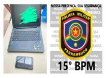 Menor é detido com equipamentos furtados na feira do troca em Belo Jardim