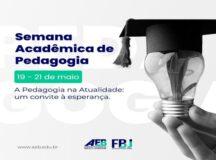 AEB e a Faculdade do Belo Jardim realizam a Semana Acadêmica de Pedagogia
